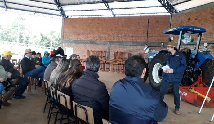 Secretaria Municipal de Saúde Promove Palestra com Agricultores do Município.