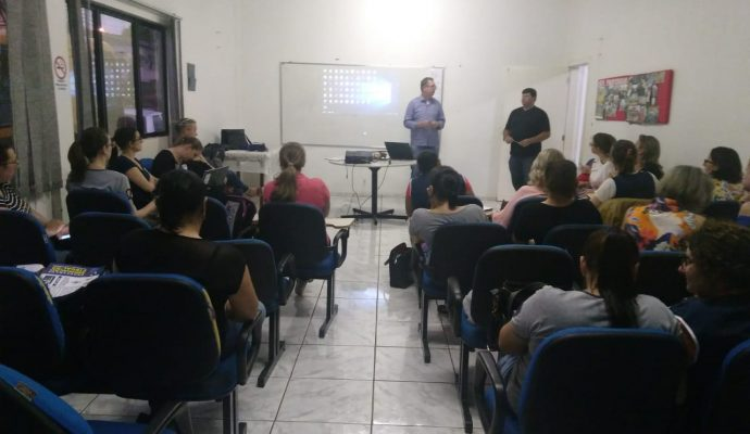 PALESTRA SOBRE EDUCAÇÃO FISCAL