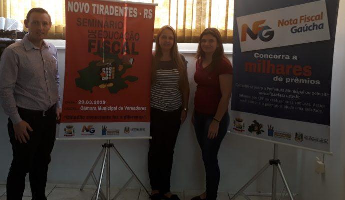 SEMINÁRIO DE EDUCAÇÃO FISCAL EM NOVO TIRADENTES/RS